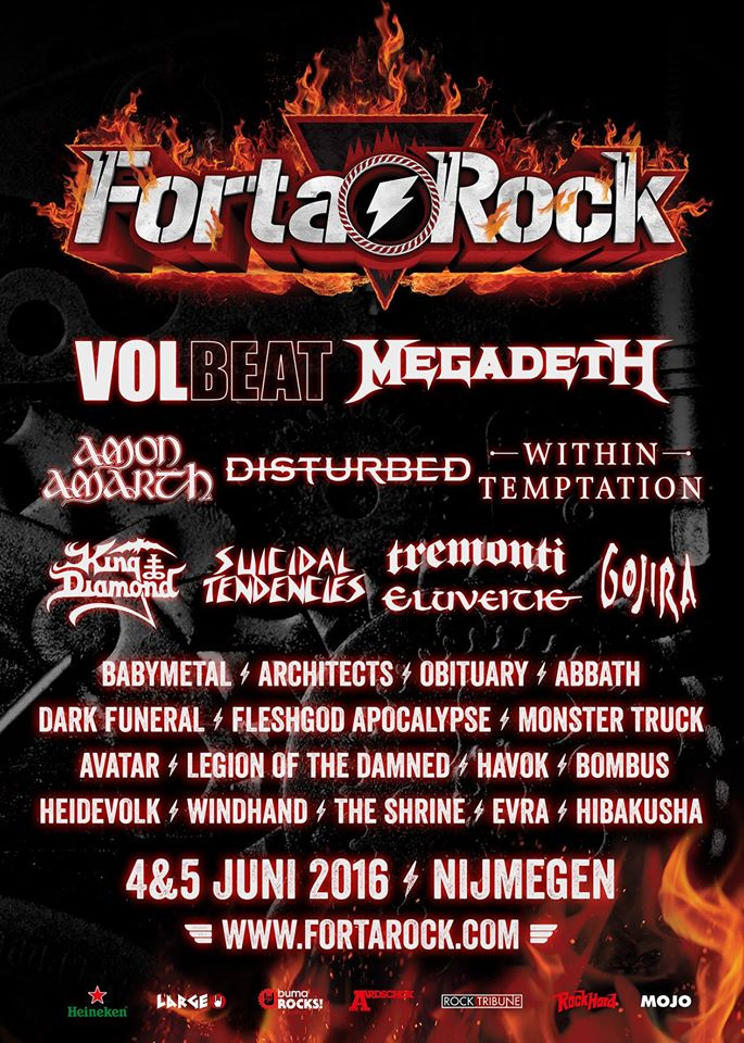 Fortarock reveals timetable, tickets are still available