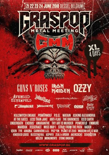 Graspop 2018 comes up with 46 new names!