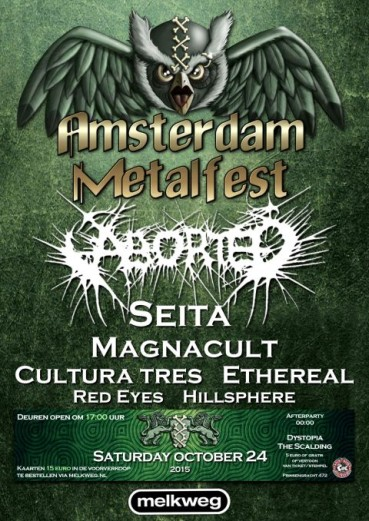 Amsterdam Metalfest 2015 (preview)