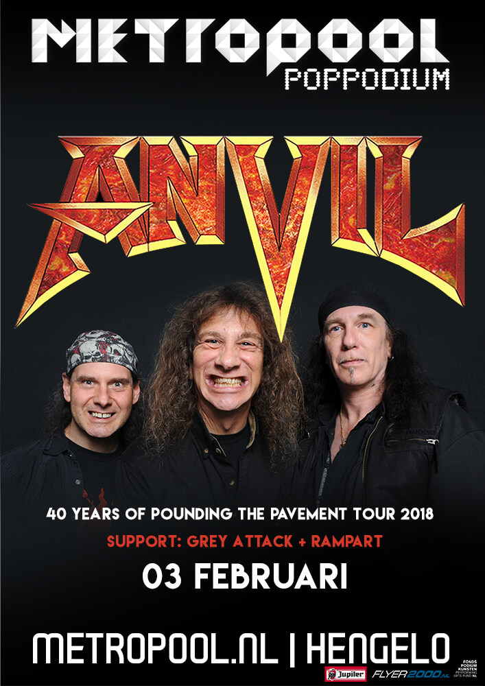 WIN: 2×2 tickets Anvil + free PitKings t-shirt