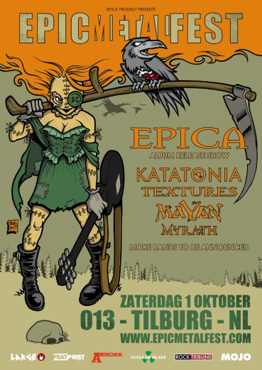 Epica announces second edition of Epic Metal Fest
