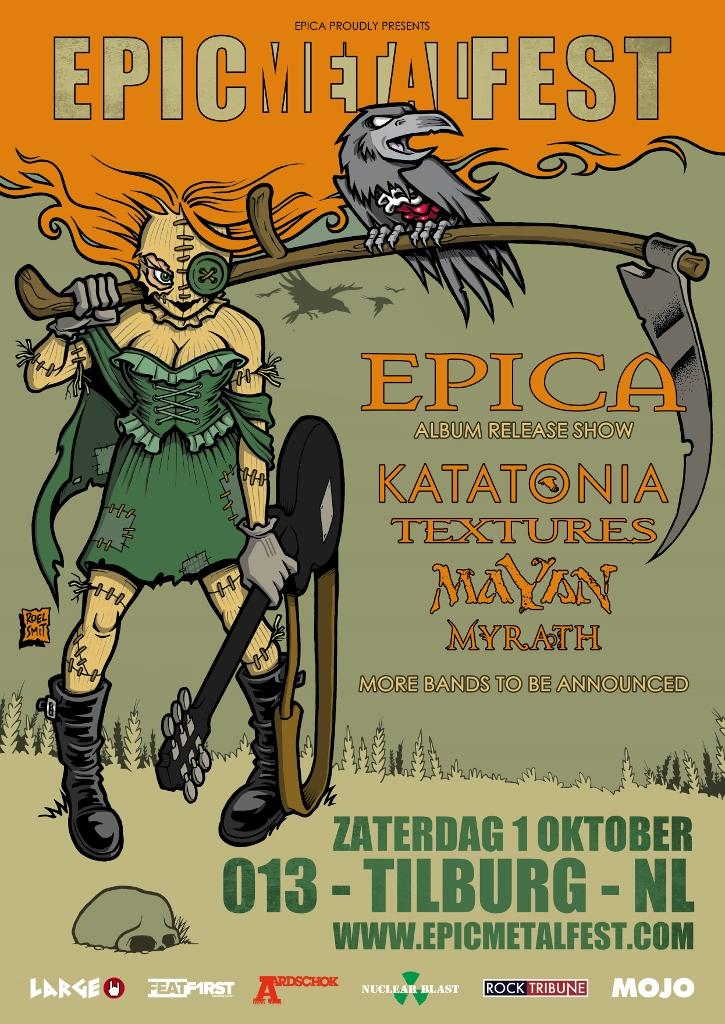 Epica announces second edition of Epic Metal Fest