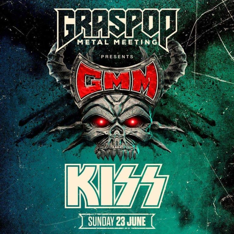 KISS headliner Graspop 2019 on Sunday