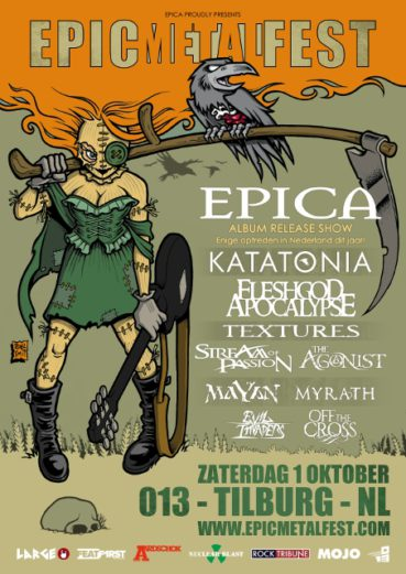 Stream Of Passion and another 4 bands confirmed for Epic Metal Fest 2016