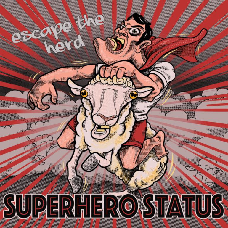 Superhero Status – Escape The Herd (album review) ★★★★☆