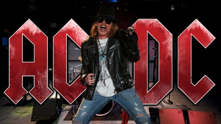 POLL: Should AC/DC make a new album with Axl Rose?