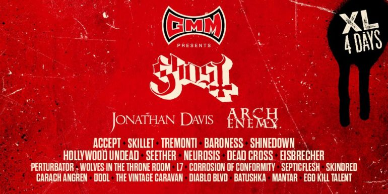 New names Graspop 2018: Ghost, Arch Enemy, Baroness, Dool and more