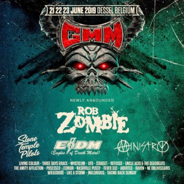 23 new names Graspop Metal Meeting 2019