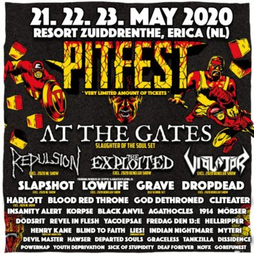 PitFest 2020 line-up completed with headliner At The Gates