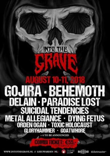 Gojira and Behemoth headliners Into The Grave 2018