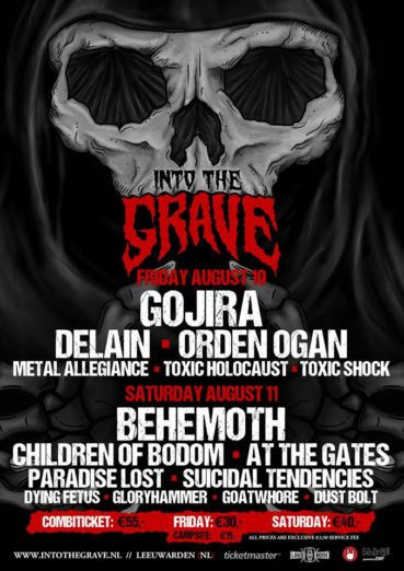 Last 4 names announced for Into The Grave 2018