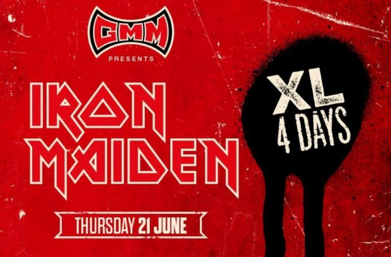 Iron Maiden third headliner Graspop 2018