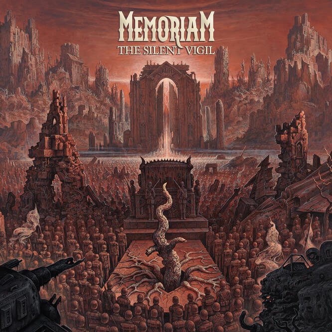 Memoriam – The Silent Vigil (album review) ★★★★☆