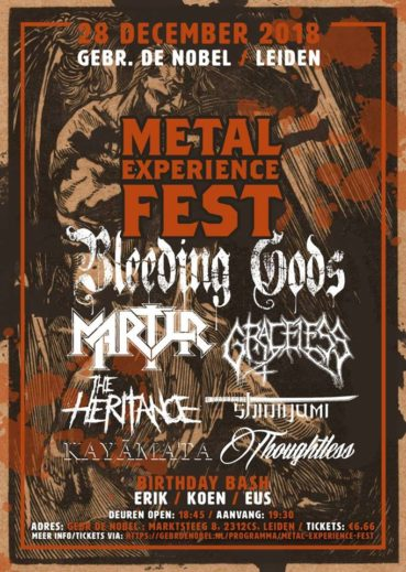 (UPDATE) WIN: 2×2 tickets Metal Experience Fest 2018