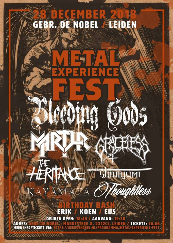 (UPDATE) WIN: 2×2 tickets Metal Experience Fest 2018