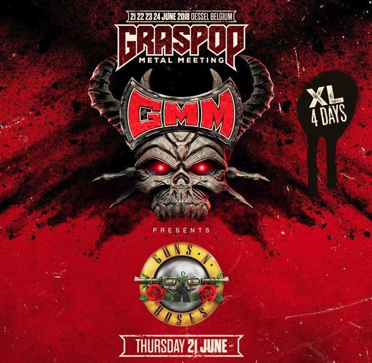 Graspop 2018 goes XL with Guns N' Roses!