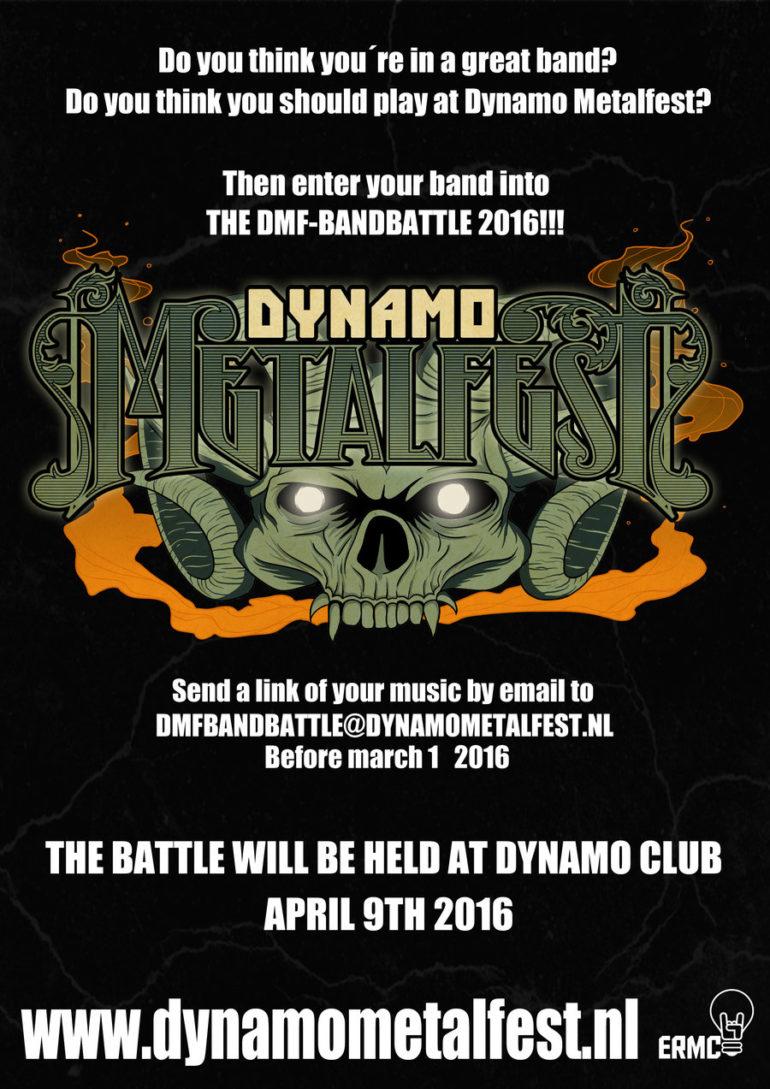 Dynamo Metal Fest 2016 is looking for Dutch metal talent