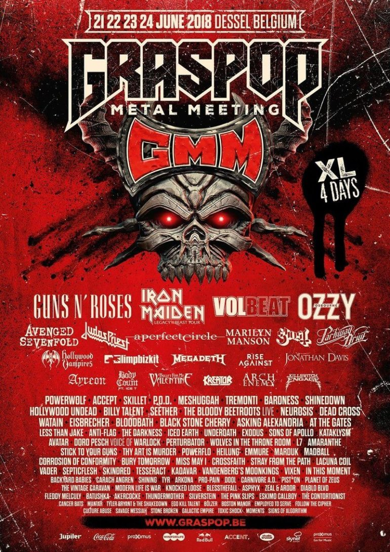 POLL: Graspop 2018 line-up completed. What are your favorite bands?