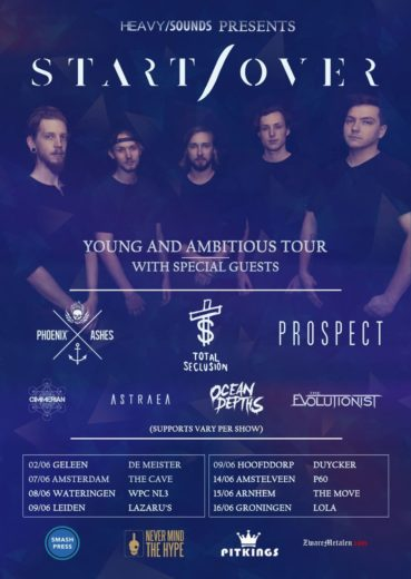 "HEAVY/SOUNDS and PitKings present: ""START/OVER Young and Ambitious Tour"""