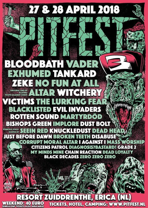 PitFest 2018 completes line-up: 34 names on the bill!