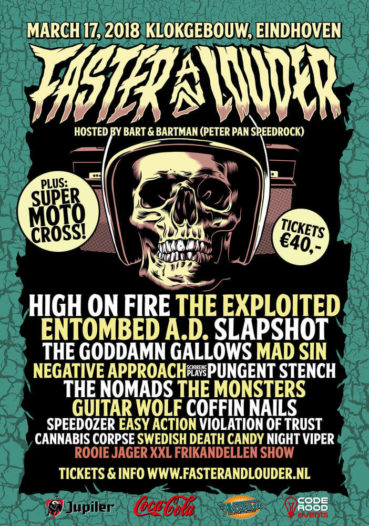 New festival 'Faster And Louder' is speeding up: line-up completed