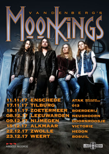 Vandenberg's MoonKings is back and announce upcoming tour