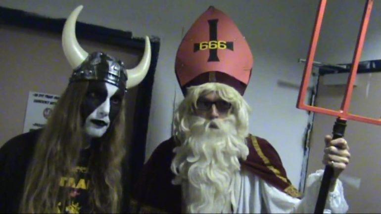 Satanklaas – Goddess of Desire ft. Henk Westbroek (official video)