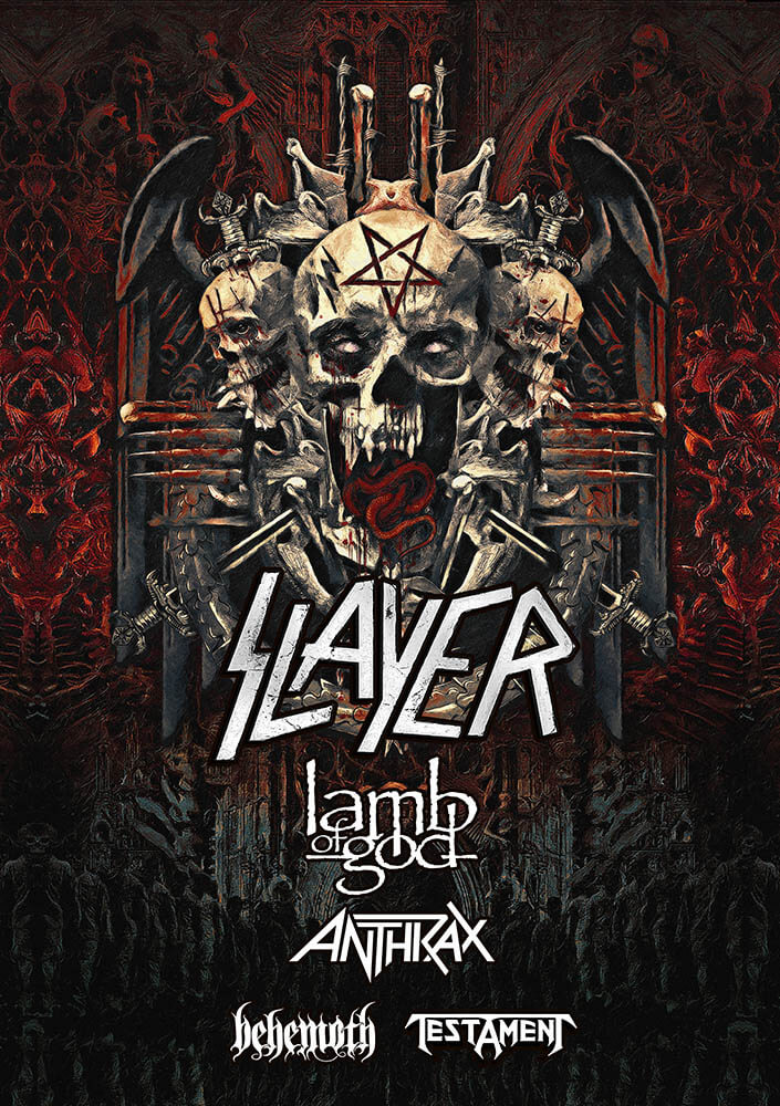Slayer heading to Zwolle with final world tour: details and tickets