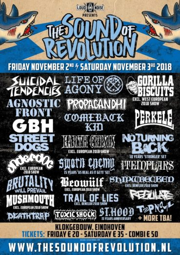 The Sound Of Revolution 2018: Two days and 17 new names