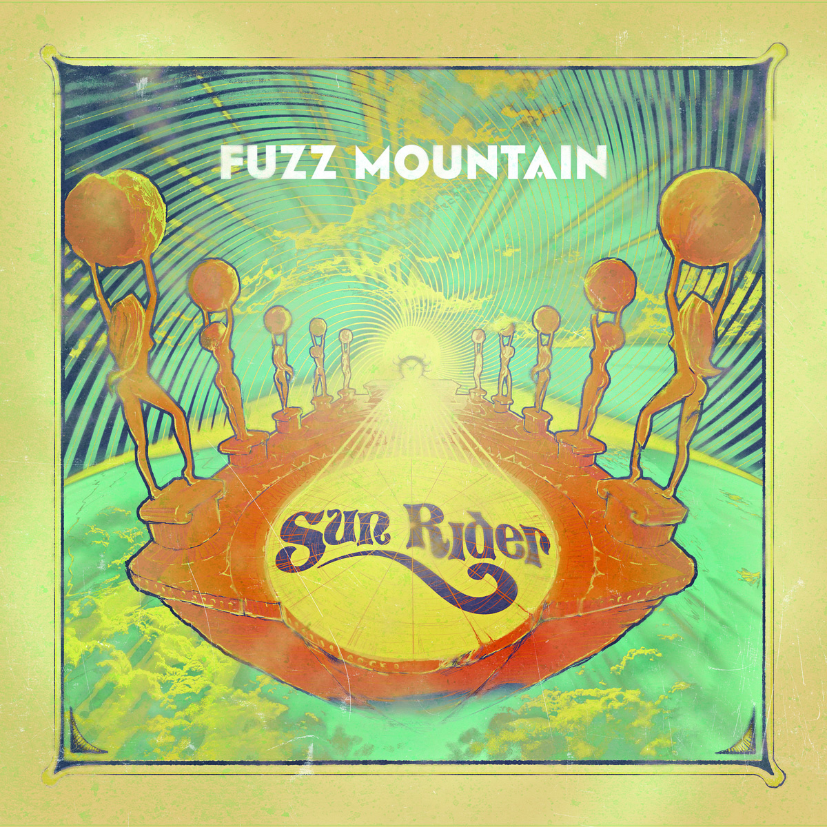 Sun Rider | Fuzz Mountain (album review) ★★★★☆