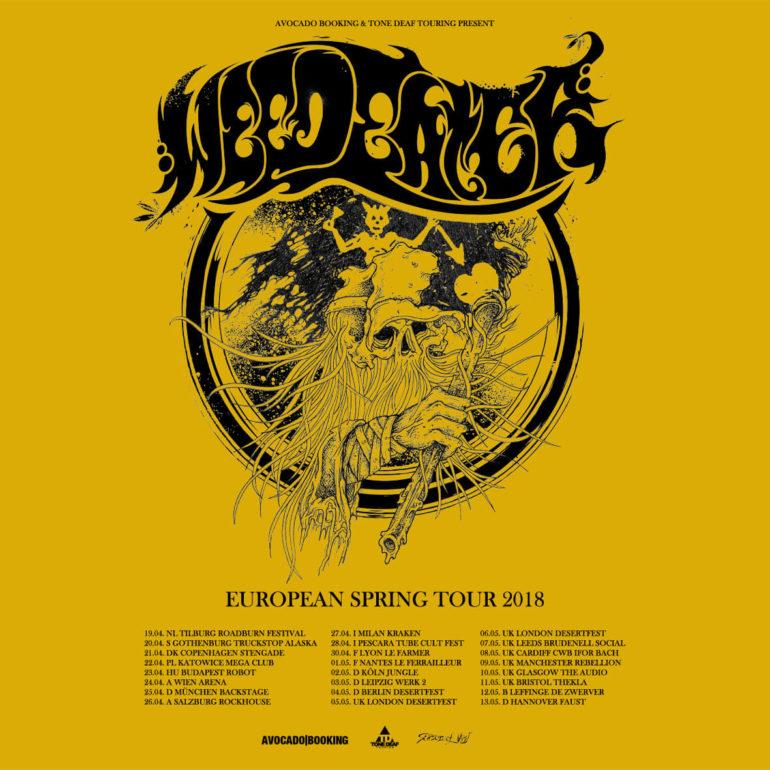 Weedeater announce European tour-dates
